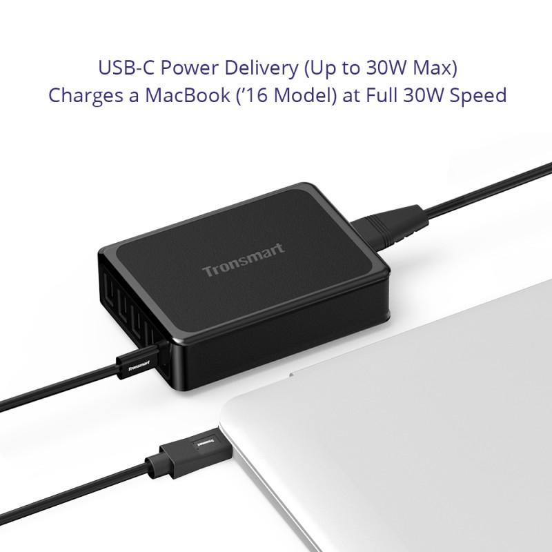 Tronsmart U5P 60W USB PD Desktop Charger