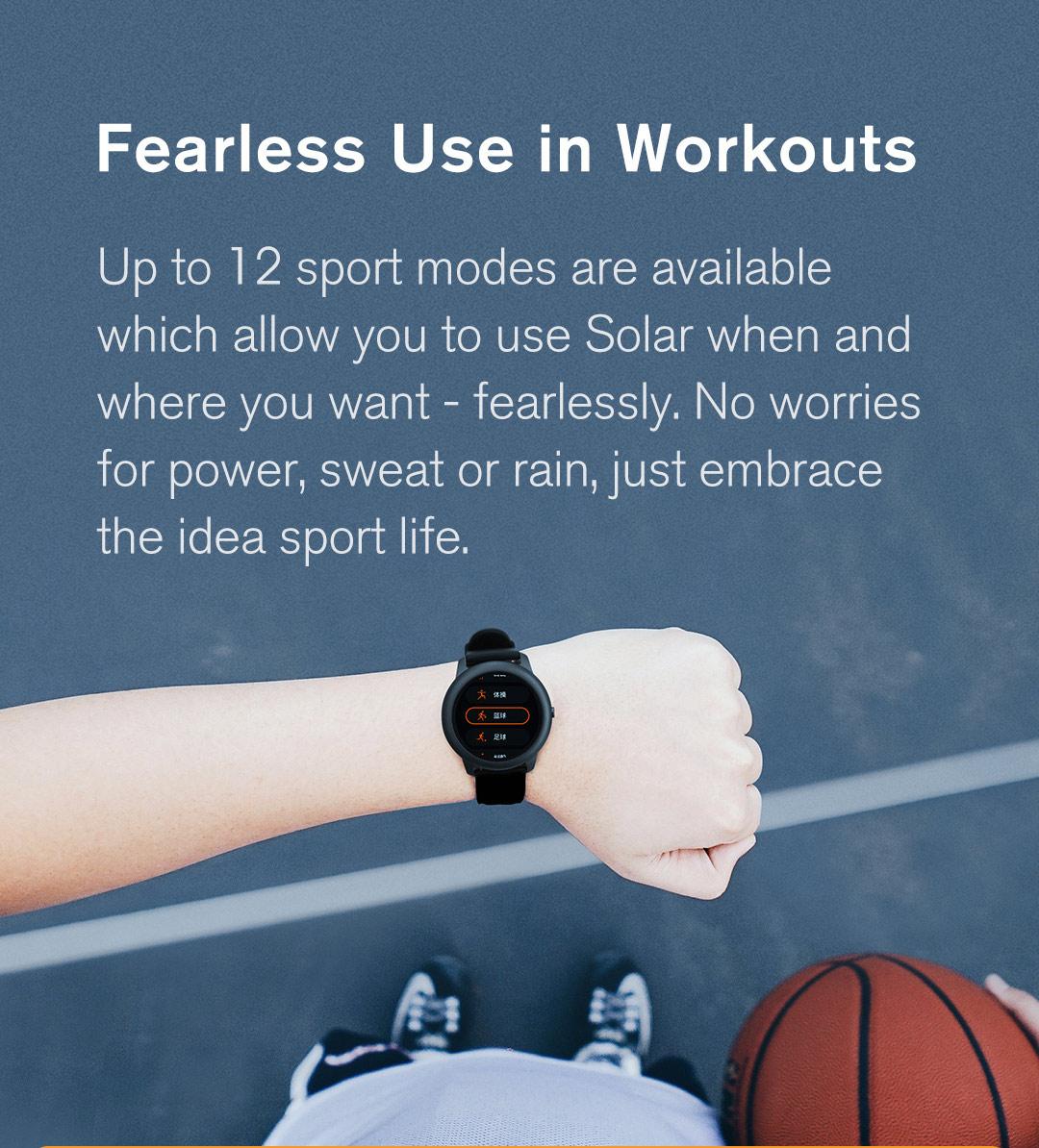 Haylou-Solar-LS05-Smartwatch-sport-modes
